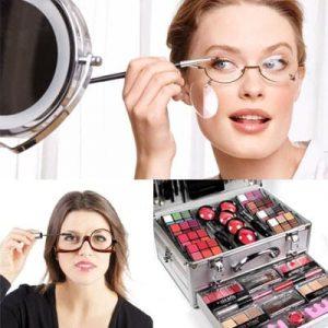 Quattro occhi: caratteristiche del trucco con problemi di vista