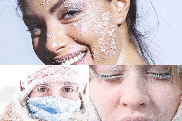 Come prendersi cura della pelle al freddo?
