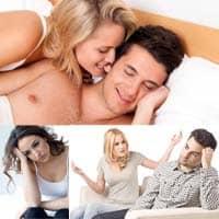 Ragioni per la mancanza di volontà maschile di fare sesso.