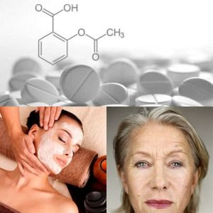 l'aspirina per il viso
